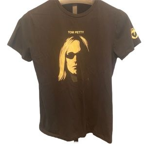 Tops - Tom Petty graphic cap sleeve t-shirt tee M